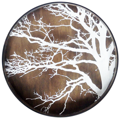 Ethnicraft NV - Tree Round Tray - Lekker Home