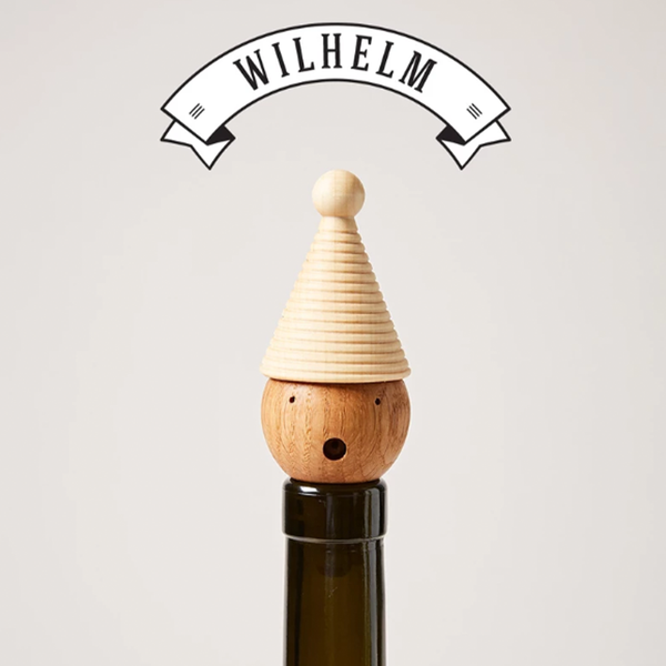 Farmhouse Pottery - Woodland Wine Topper - Lekker Home