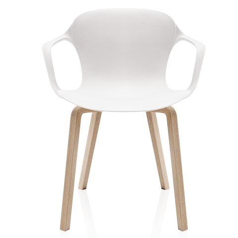 Fritz Hansen - Nap Armchair - Wood Base - Lekker Home