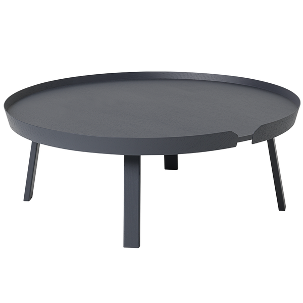 Muuto - Around Coffee Table - Anthracite / X-Large - Lekker Home