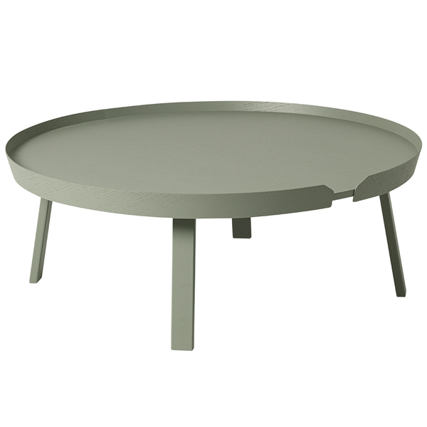 Muuto - Around Coffee Table - Dusty Green / X-Large - Lekker Home