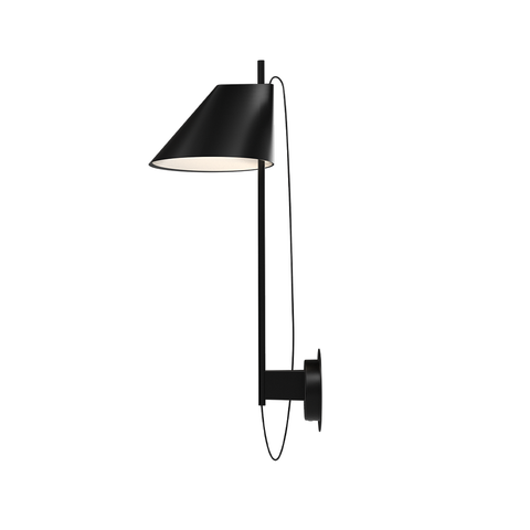 Louis Poulsen - Yuh Wall Lamp - Black / One size - Lekker Home