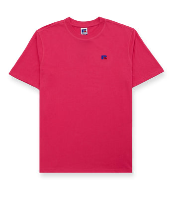 Russell Athletic Baseliner Tee Magenta