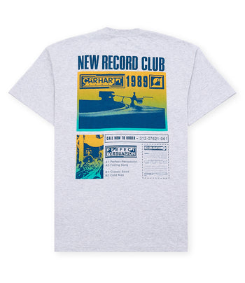 Carhartt S/S Record Club T-Shirt Ash Heather