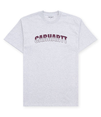 Carhartt S/S District T-Shirt Ash Heather/Shiraz