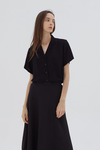Shop At Velvet Light Shirt Black