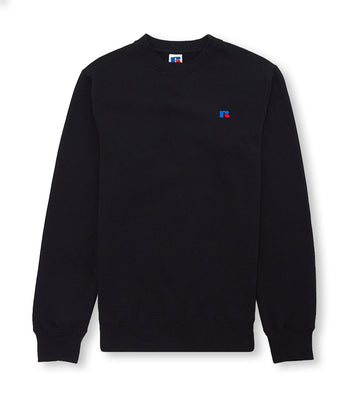 Russell Athletic Frank Crew Black