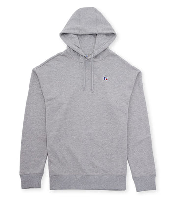 Russell Athletic Mason Pullover Hood Grey Marl