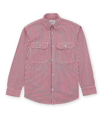 Carhartt W' L/S Great Master Shirt Red / White
