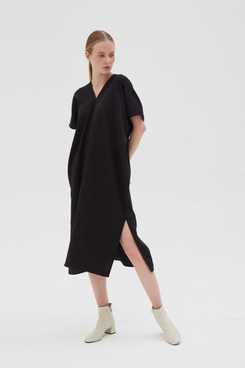 Shop At Velvet Elevation Dress Black