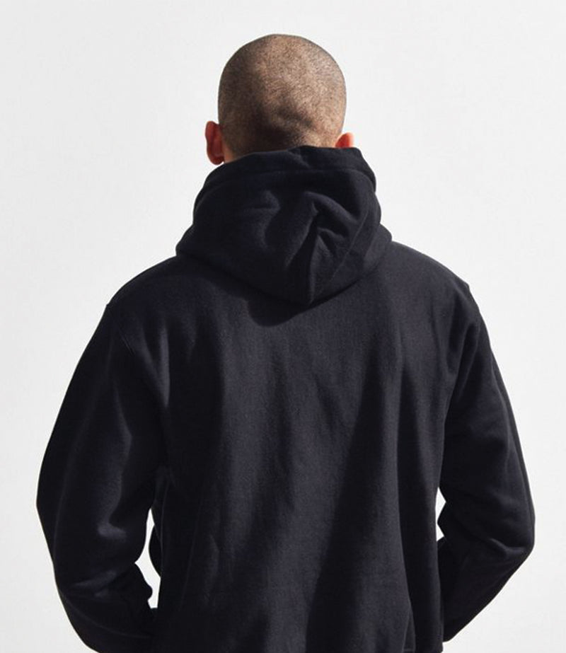 Champion Reverse Weave Fleece Pullover Hood -  Small Logo C