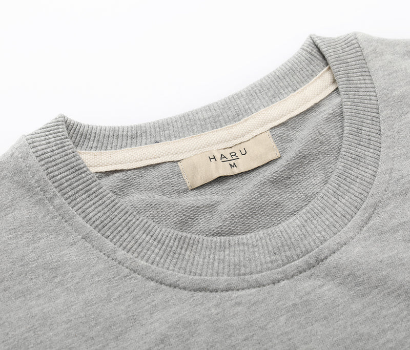 HARU Casual Short Sleeve Sweatshirt