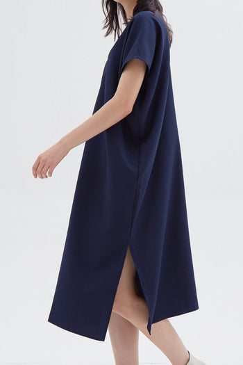 Shop At Velvet Elevation Dress Navy