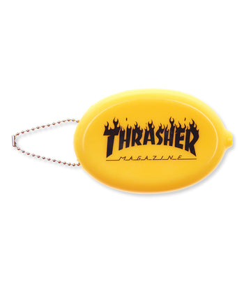 Thrasher Flame Coin Pouch