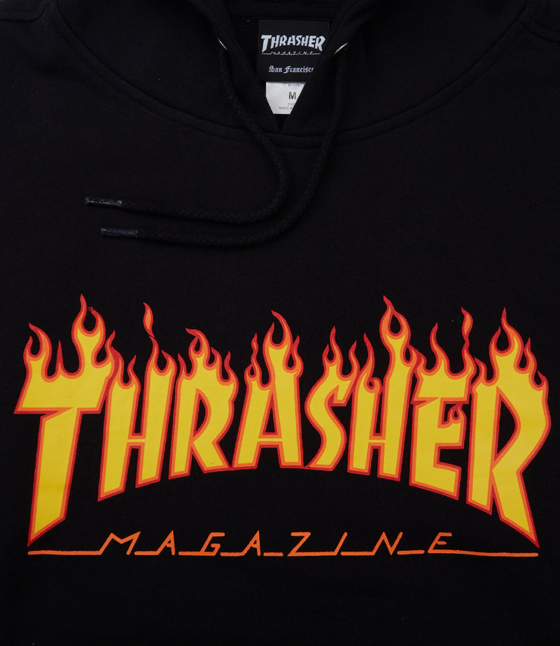 Thrasher Flame Hooded Sweatshirt