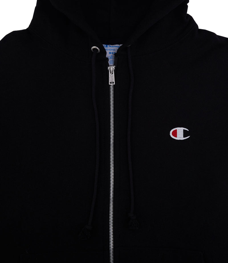 Champion Reverse Weave Full Zip Jacket - Small Logo C