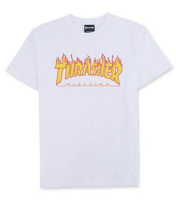 Thrasher Burning Over S/S Pocket Tee