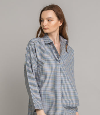 Wonder Shirt - Blue Check