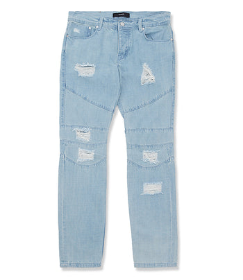 Stampd Distressed Panel Denim