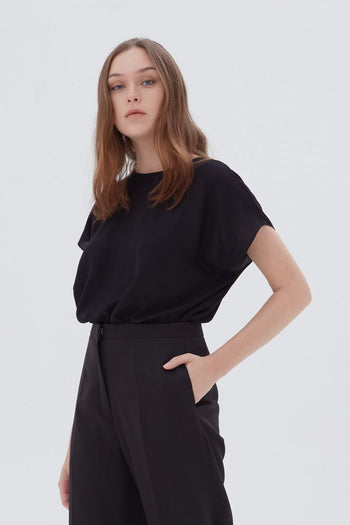 Shop At Velvet Vertical Top Black