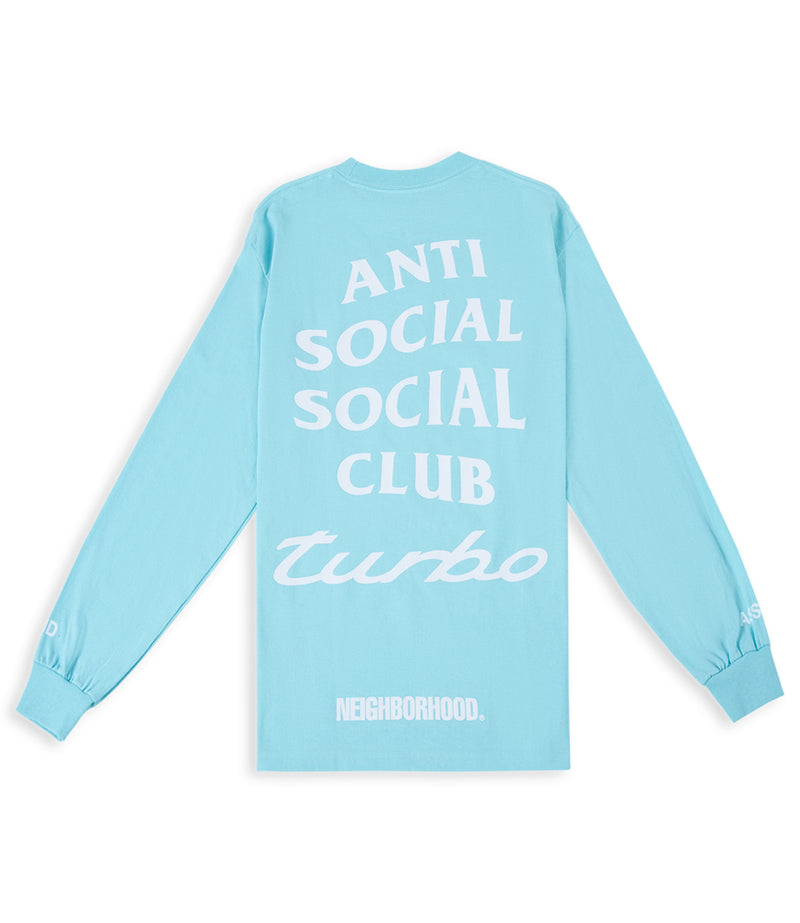 ASSC x Neighborhood 911 Long Sleeve Teal Tee