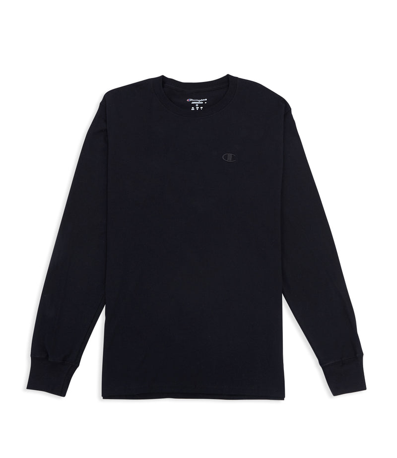 Classic Jersey Long Sleeve Tee Black