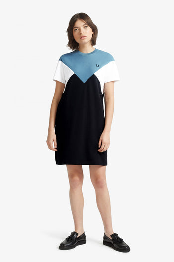 Fred Perry Chevron T-Shirt Dress