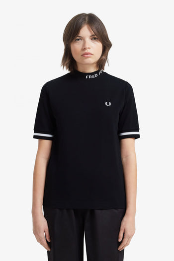 Fred Perry High Neck Fred Perry T-Shirt