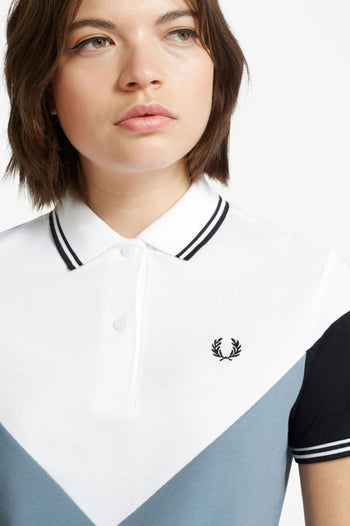 Fred Perry Chevron Detail Polo Shirt