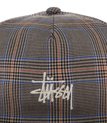 STUSSY Glen Plaid Cap