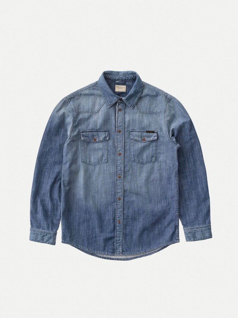 Nudie George Blue Legend Denim