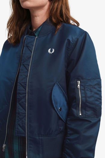 Fred Perry Cropped Ma1 Bomber Jacket