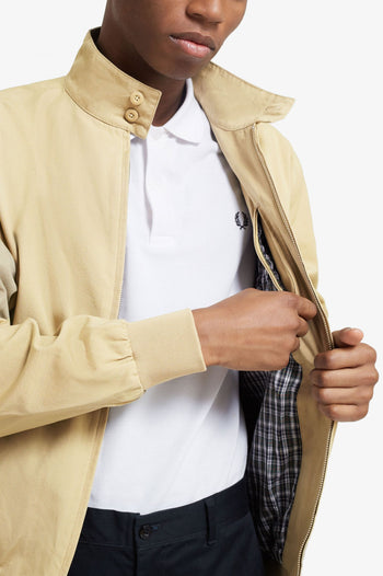 Fred Perry Check Lined Harrington Jacket