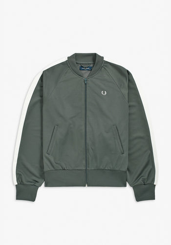 Fred Perry Striped Bomber Jacket