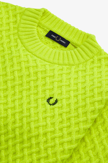 Fred Perry Textured Jumper