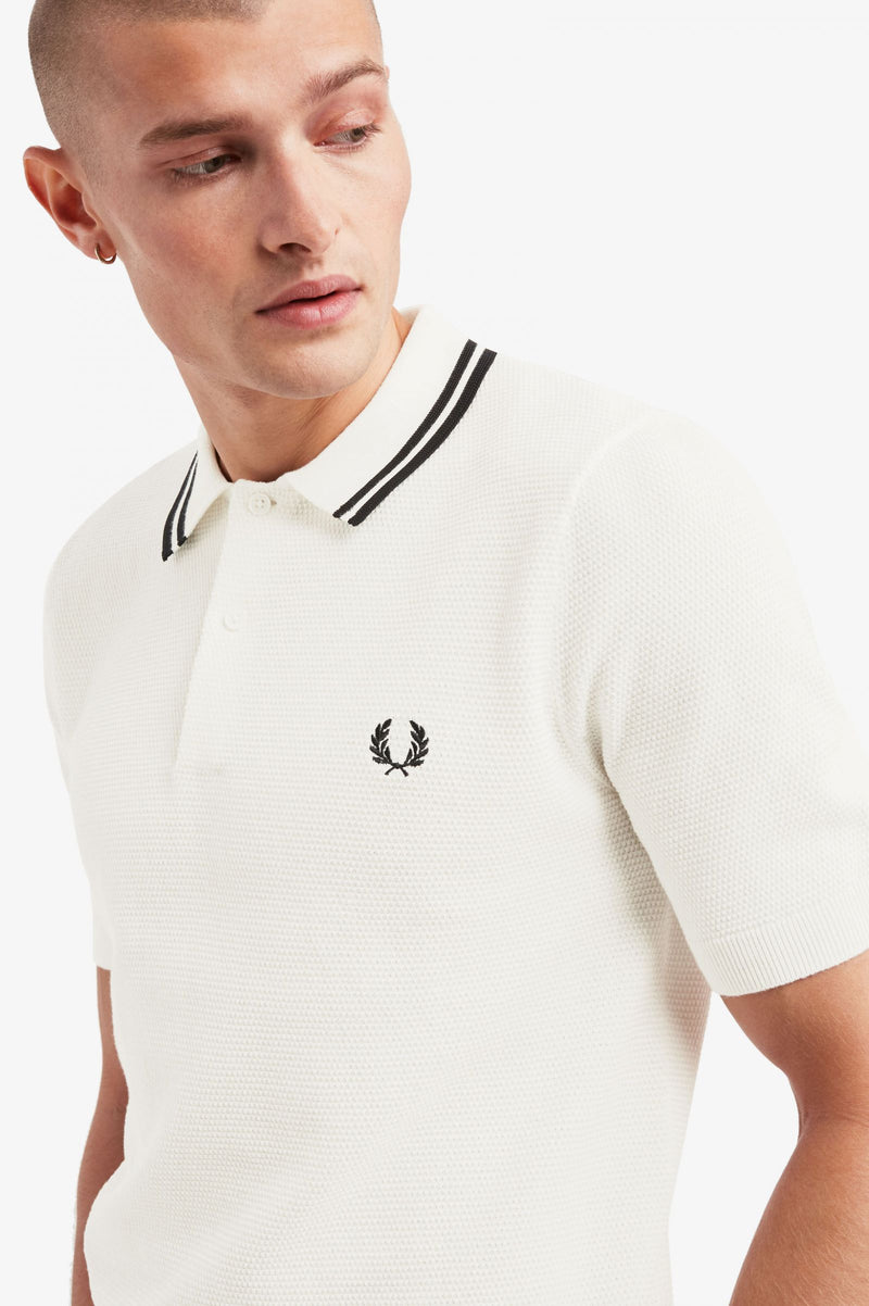 Fred Perry Textured Knitted Shirt