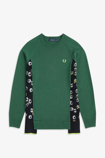 Fred Perry Floral Panel Jumper