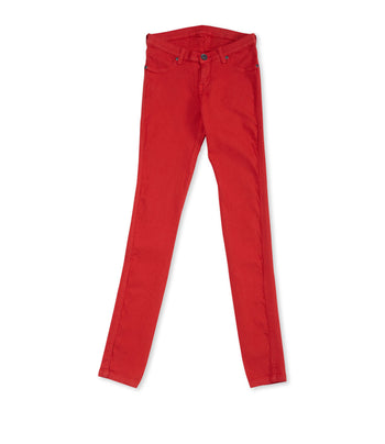 Dr. Denim Kissy Red