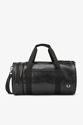 Fred Perry Tonal Pu Barrel Bag
