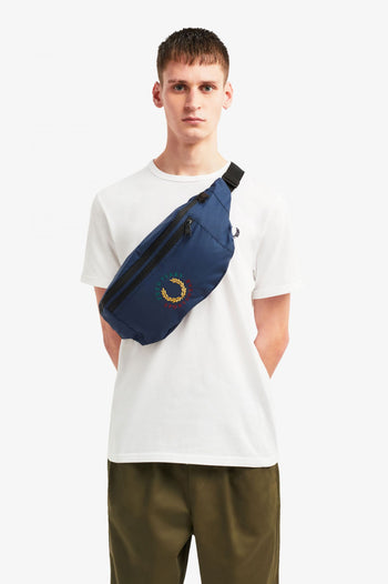 Fred Perry Branded Ripstop Crsbdy Bag