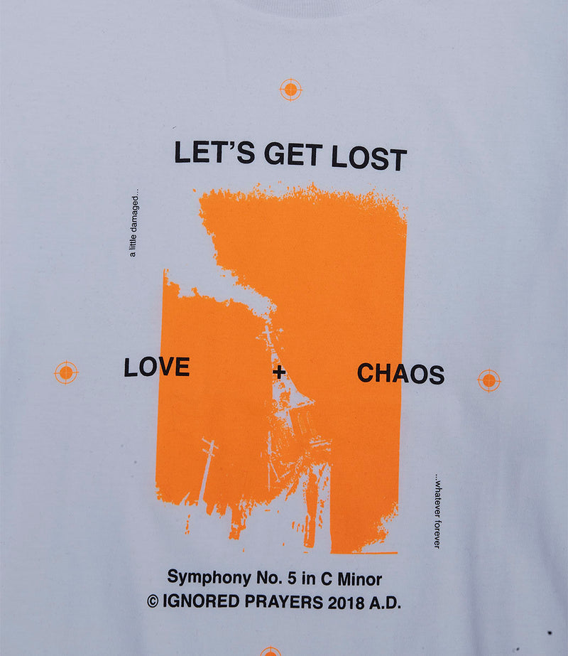 IGNORED PRAYERS Love & Chaos Tee
