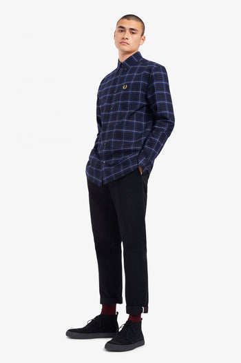 Fred Perry Tonal Check Shirt