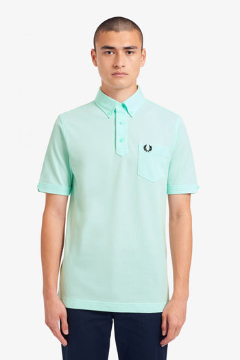 Fred Perry Button Down Collar Polo Shirt