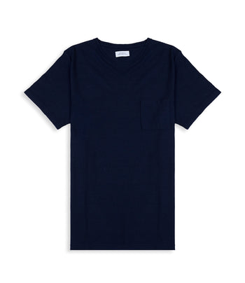 Saturdays NYC Collet Gauze Linen S/S Tee