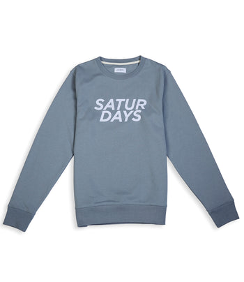 Saturday NYC Bowery Gotham Italic Sweatshirt