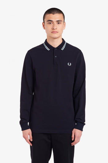 Fred Perry LS Twin Tipped Shirt