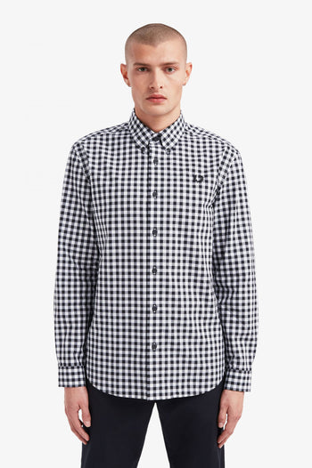 Fred Perry 2 Colour Gingham Shirt