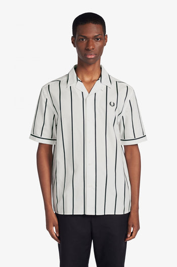 Fred Perry Striped Revere Collar Shirt