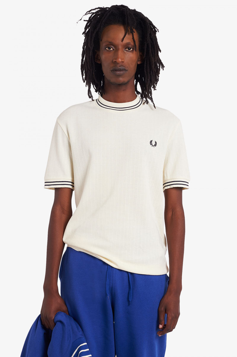 Fred Perry Crew Neck Piqué T-Shirt