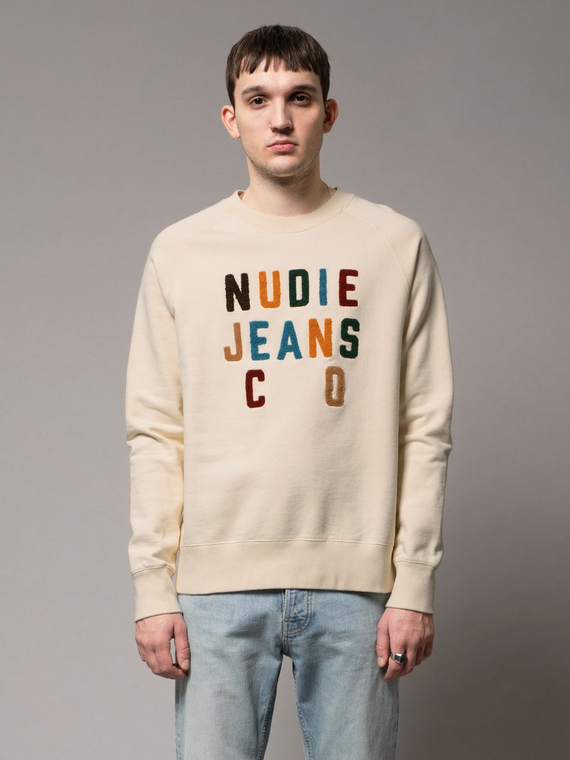 Nudie Melvin Nudie Jeans Co Dusty White